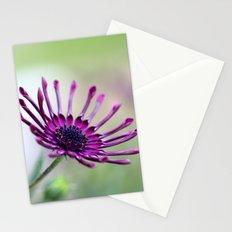 vibrant purple flower Stationery Cards