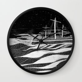Sailing With The Stars Wall Clock