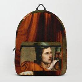 Francesco Hayez - The Death of Abradates Backpack