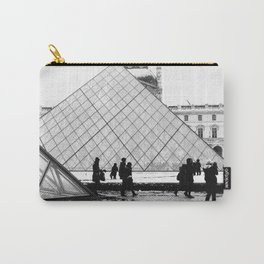 Rainy Day at The Louvre Carry-All Pouch