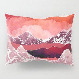 Scarlet Glow Pillow Sham
