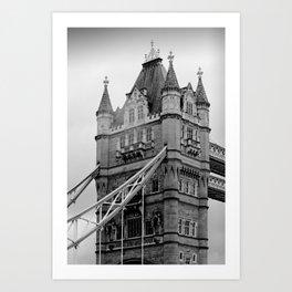 London ... Tower Bridge I Art Print