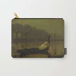 The Lady of Shalott by John Atkinson Grimshaw Carry-All Pouch