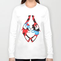 guns Long Sleeve T-shirts featuring Kong Guns by launa