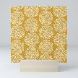 Beech in Gold Mini Art Print