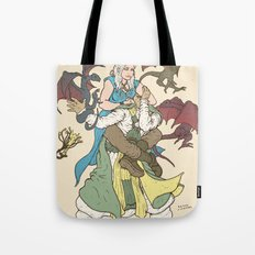 Mother of the Dragon Sleeper Tote Bag