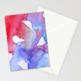 Symphony in blue minor II Stationery Cards