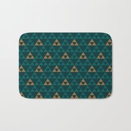 The Golden Power (Green) Bath Mat