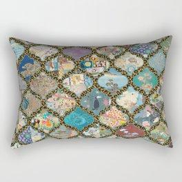 lanterns on leopard mix prints Rectangular Pillow