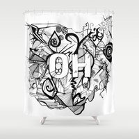 ohio Shower Curtains featuring Ohio. by Stefani Reeder