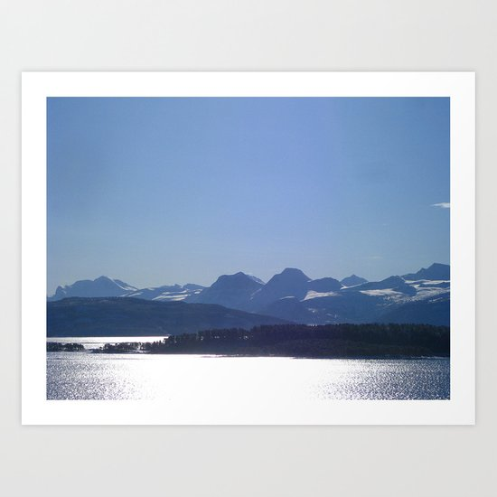 Nordic Light Art Print
