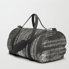 Brahms Sheet Music - Ballade Duffle Bag