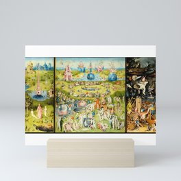 The Garden of Earthly Delights by Bosch Mini Art Print