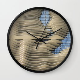 Aqua Tower Chicago Wall Clock