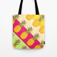 Tropical Pineapples Tote Bag