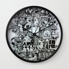 Waiting home Wall Clock