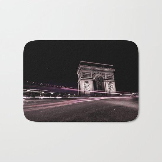 Arc de triomphe Paris France Bath Mat