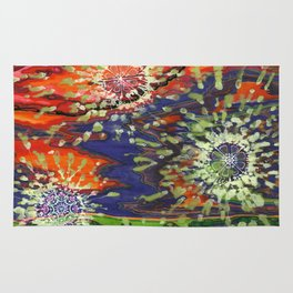 Induced Cosmic Revelations (Four Dreams, In Mutating Cycle) Rug