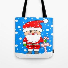Merry Christmas Santa Tote Bag
