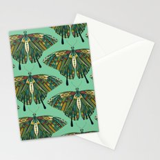 swallowtail butterfly emerald Stationery Cards
