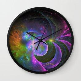 Cosmic Fantasy Trip Wall Clock