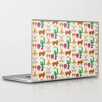 mexico Laptop & iPad Skins featuring Mexico by Ana Types Type