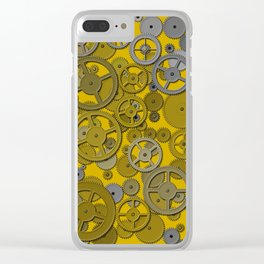 Gears Clear iPhone Case
