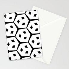 Van Trijp Black & White Pattern Stationery Cards