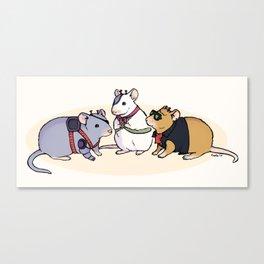 Biker Mice from Mars Canvas Print