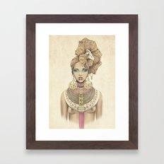 K of Clubs Framed Art Print