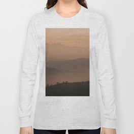 Mountain Love - Landscape and Nature Photography Long Sleeve T-shirt