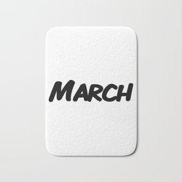 March Bath Mat