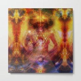 Deep Meditation Metal Print