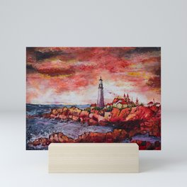 End of Watch Mini Art Print