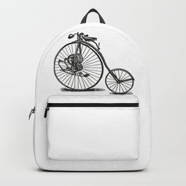 Old bicycle Backpack