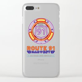 ROUTE 91 Clear iPhone Case