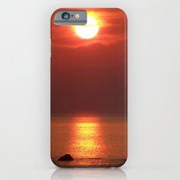 Halo Sunset Glow iPhone Case