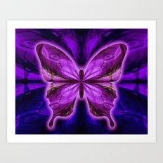 Divine Butterfly Art Print