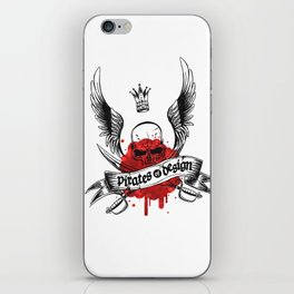 Pirates of Design iPhone Skin