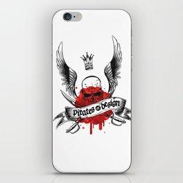 Pirates of Design iPhone Skin