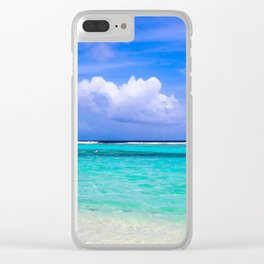 Mahahual Clear iPhone Case