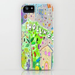 City of Hollywood Hills iPhone Case