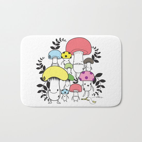 WELCOME TO MUSHROOM LAND - EP.547 VE Bath Mat