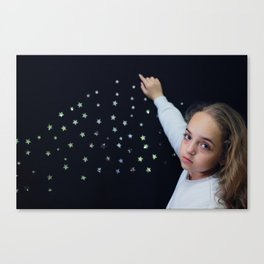 Sowing the Stars Canvas Print