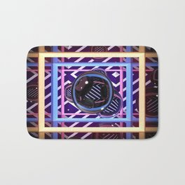 Abstract Box Bath Mat