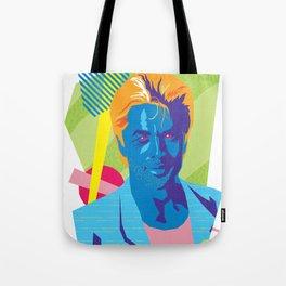 SONNY :: Memphis Design :: Miami Vice Series Tote Bag