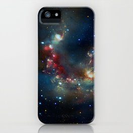 Galactic Spectacle iPhone Case