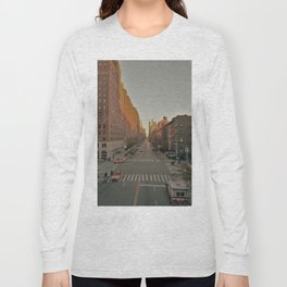 The Yellow Muted City (Color) Long Sleeve T-shirt