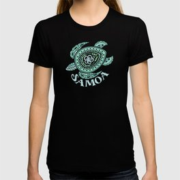 Vintage Samoa Tribal Turtle T-shirt