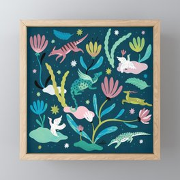 Dream Animals Framed Mini Art Print